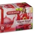Teekanne Klarer Kopf Kräuterteemischung)