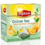 Lipton Tee Green Tee Mandarine Orange