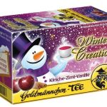Goldmännchen Tee Winter Creation