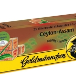 Goldmännchen Tee  Grüner Tee Ceylon Assam