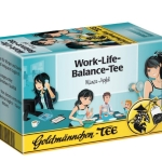 Goldmännchen Tee Work-Life-Balance