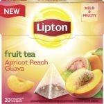 Lipton Früchtetee, Aprikose Pfirsich Guave