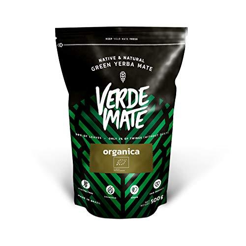 Mate Tee Verde Mate Organica Despalada 500g | Verde Mate Grün Organisch Despalada | Mate Tee aus Brasilien | Hohe Qualität | Stark anregender Mate Tee | Glutenfrei