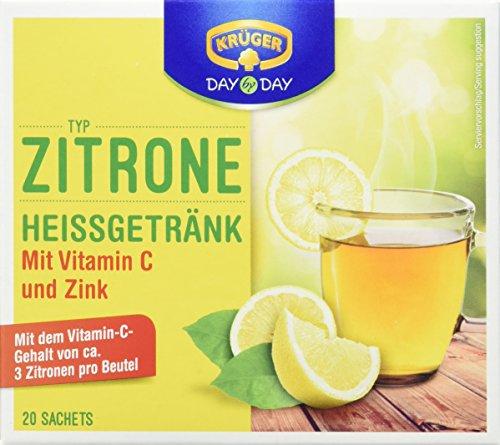 Krüger Citrone Heissgetränk, 5er Pack (5 x 160g Packung)