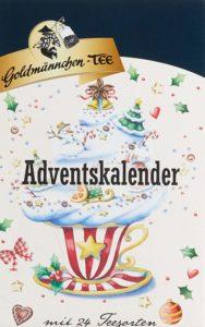 Goldmännchen Adventskalender