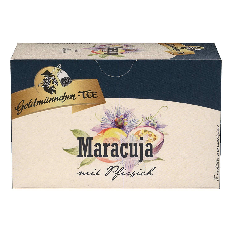 Goldmännchen Tee Maracuja mit Pfirsich