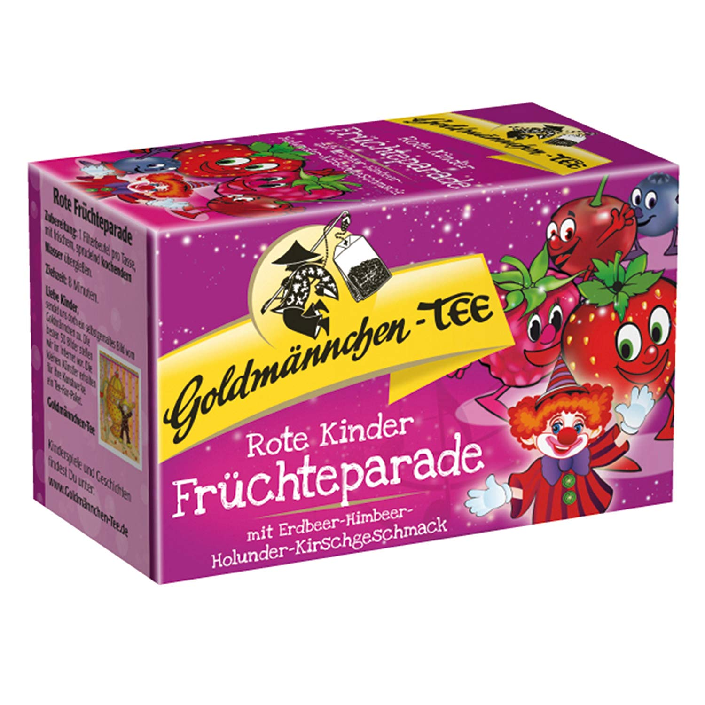 Goldmännchen Tee Rote Früchteparade