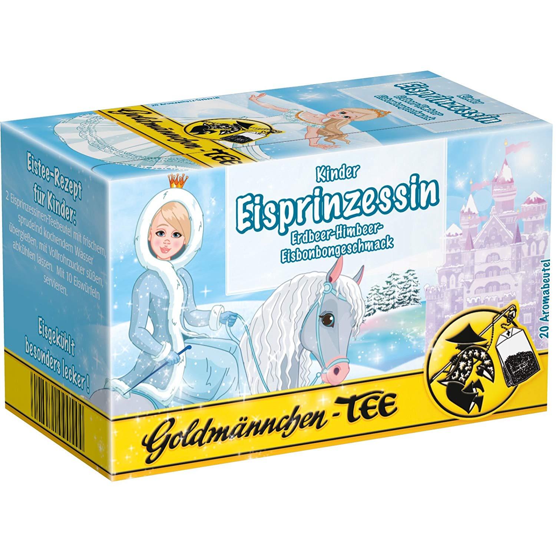 Goldmännchen Kinder Tee Eisprinzessin