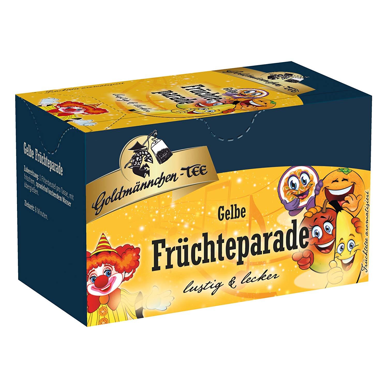 Goldmännchen Tee Gelbe Früchteparade
