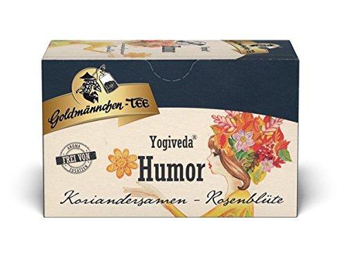 Goldmännchen Yogiveda Yogiveda Humor Koriandersamen-Rosenblüte