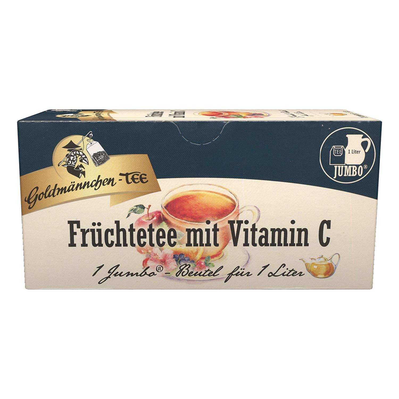Goldmännchen Jumbo Tee Früchte mit Vitamin C,