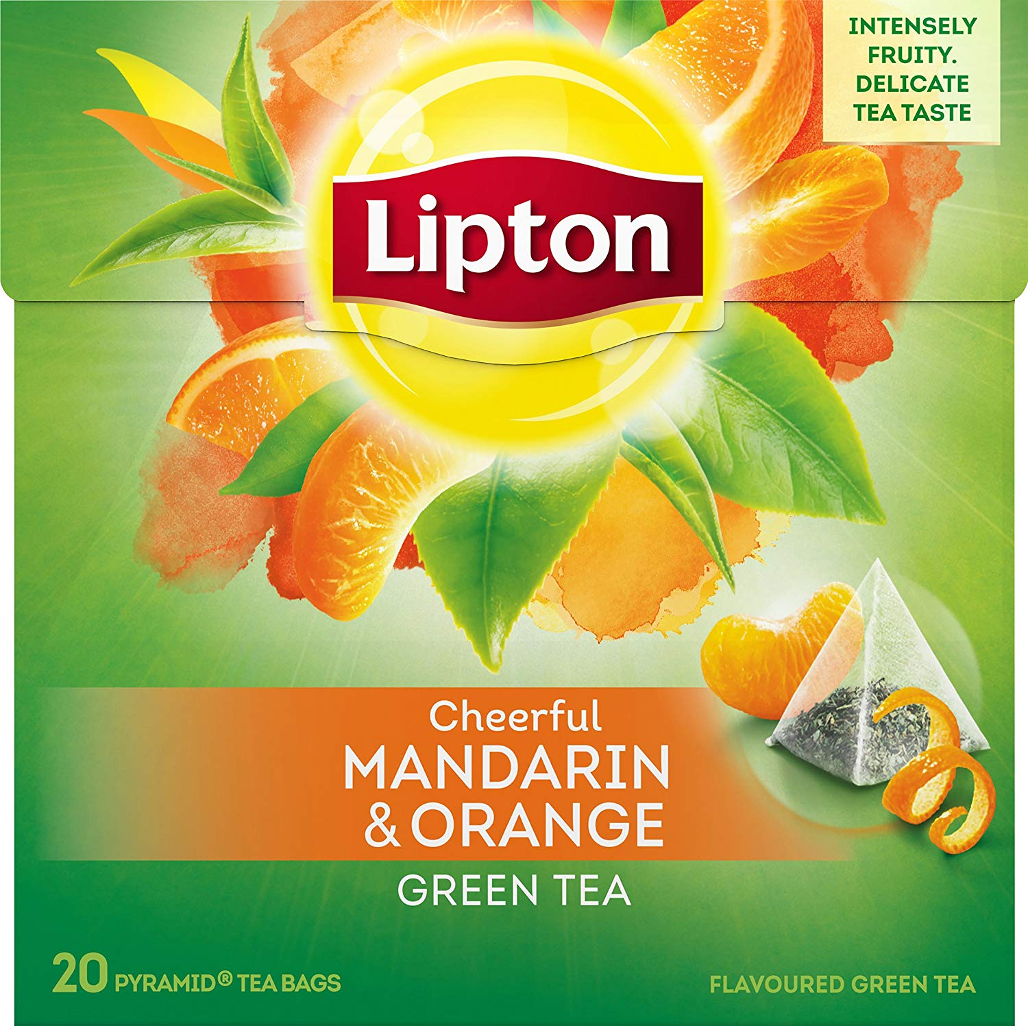 Lipton Tee Green Tee Mandarine Orange