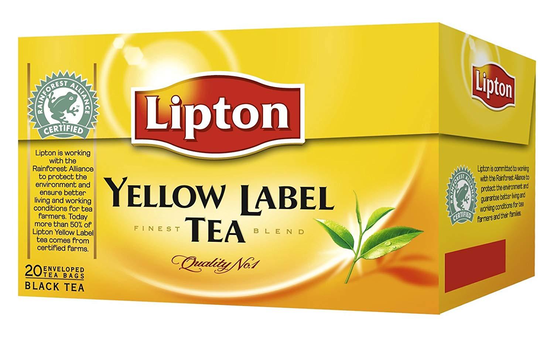 Lipton Tee  Yellow Label