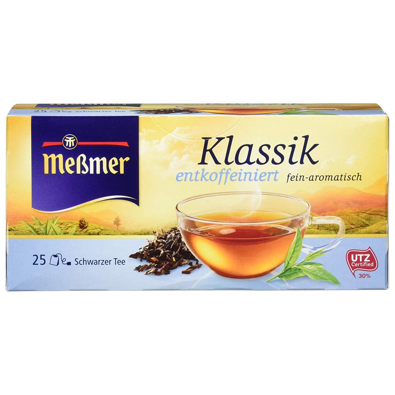 Messmer Schwarztee Klassik entcoffeiniert