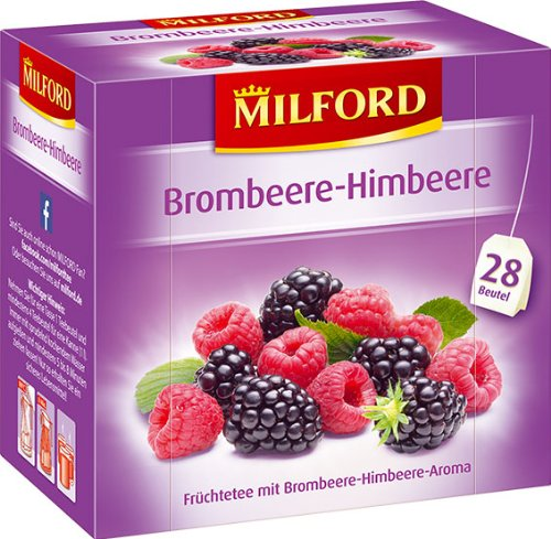 Milford Brombeere-Himbeere Tee