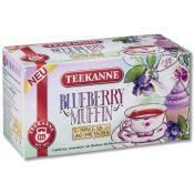 Teekanne Früchtetee Blueberry