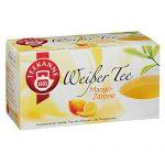 Teekanne Weißer Tee Mango Zitrone