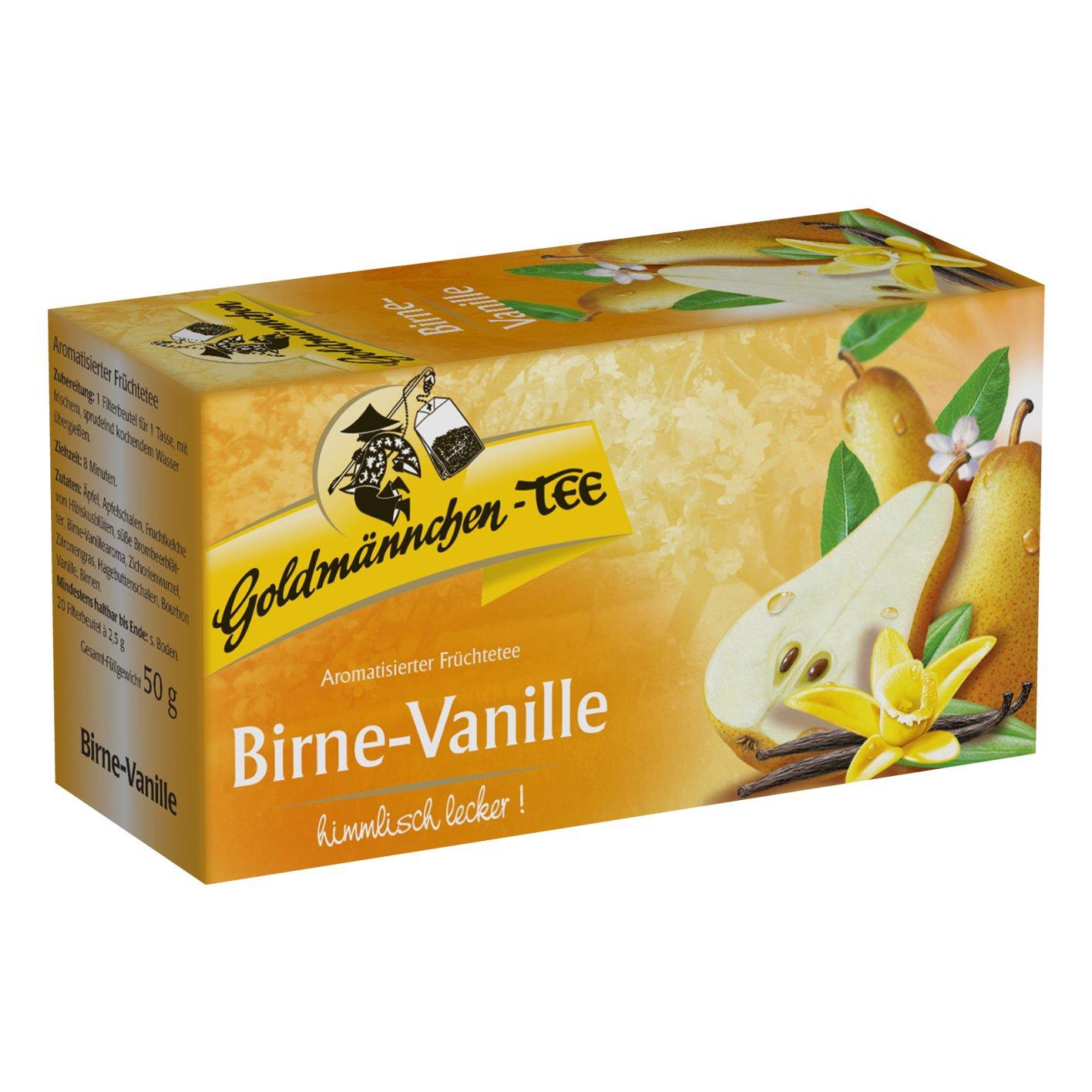 Goldmännchen Tee Birne Vanille