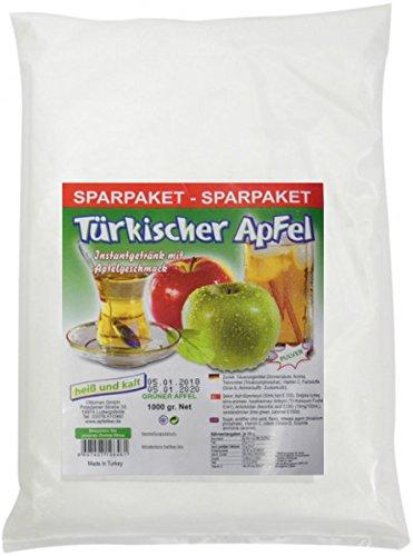 1KG Ottoman Türkischer Apfel, Instantgetränk mit Apfelgeschmack – grüner Apfel