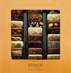 """chocri """"Weltreise"""" – 24 Schokoladen-Täfelchen in einer Geschenkbox"""